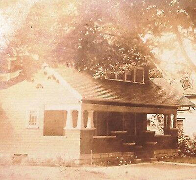 United Rppc 1916 Arts & Crafts Bungalow House Clark St Spencerport Ny Photo Postcard Ideal Gift For All Occasions