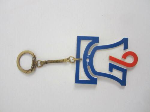 Vintage 1976 Bicentennial Key Chain Liberty Bell Signcraft Brass /& Plastic