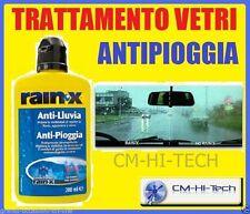 RAIN-X RAINX ANTI PIOGGIA ANTIPIOGGIA TRATTAMENTO VETRI LUNOTTO PARABREZZA AUTO°