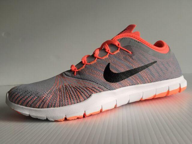 Nike Flex Adapt TR GreyBlackLava Glow Women's Training Shoes Size 8.5