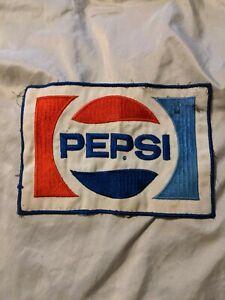 Vintage uniform patch TEEM soda pop small size die cut lemon PEPSI COLA n-mint+