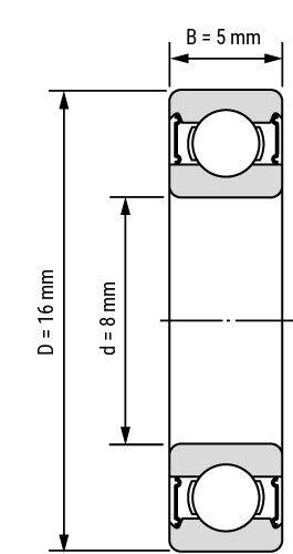 Stainless Steel /& Ceramic Bearing Bicycle Hub Wheel Headset Bottom Bracket