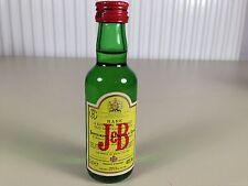 Mignonnette mini bottle non ouverte whisky J B