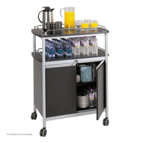 Safco Mobile Beverage Cart 8964BL