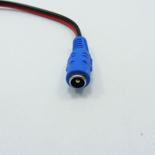 DC 2.1x5.5mm 12V Enchufe De Alimentación Cable Conector 26cm Cámara De CCTV LED Cable Jack