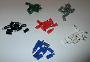 Piece-23-25-CT-60-Piece-Connecteur-Manches-Rond-2-6mm-Trie-Neuf