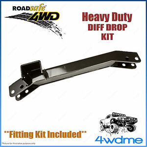 Toyota Landcruiser 100 Series with IFS 4WD Roadsafe Diff Drop Kit