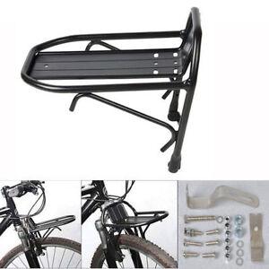 Aluminum-Alloy-Bike-Bicycle-Front-Rack-Luggage-Shelf-Carrier-Panniers-Bracket