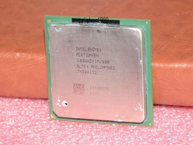 Intel® Pentium® 4 3.0//1M//800 SOCKET 478PIN DESKTOP CPU   BX80546PG3000E SL8JZ