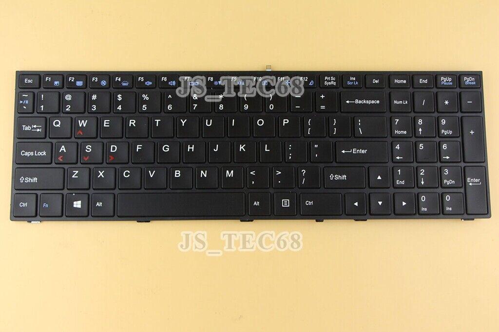 For Clevo P650SA P651SA P655SA P670SG P671SG Keyboard Backlit US Black