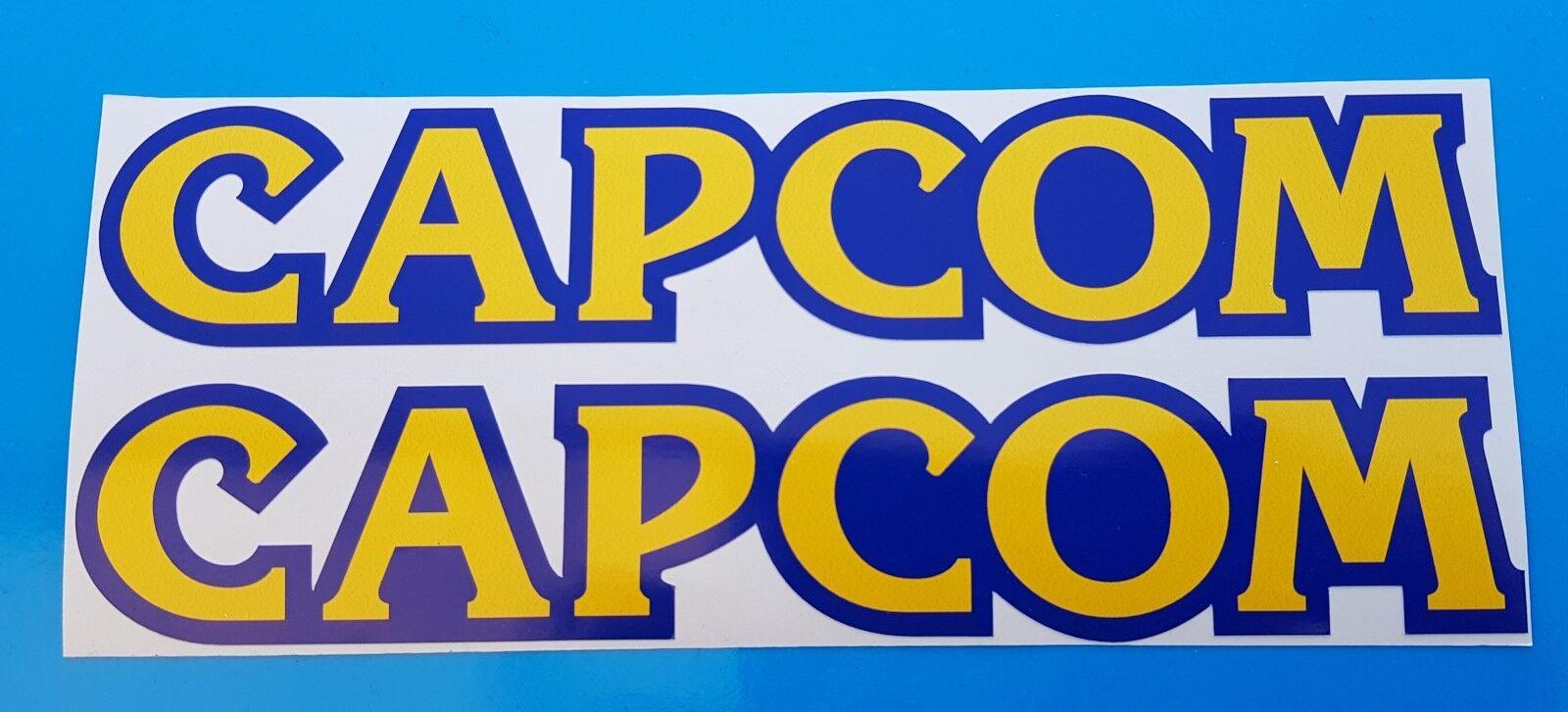 Capcom Stickers Decal Graphic Vinyl x 2 stickers 8