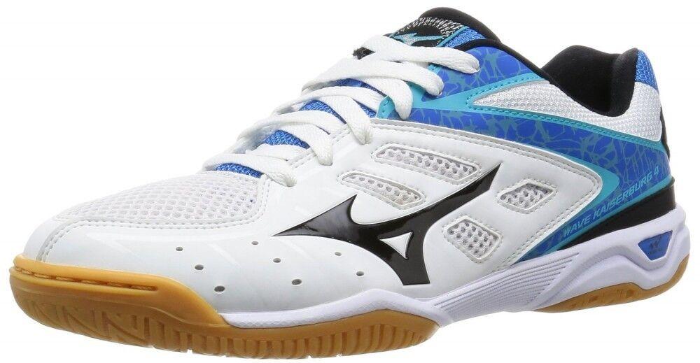 Zapatos Tenis De Mesa Mizuno Wave kaiserburg 4 81GA1620 blancoo Negro Azul X X