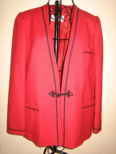 Størrelse Rød Inches 20 Jacket Stilfuld ca Pit 16 14 Windsmoor 27l Frakke Pit xnHFaF