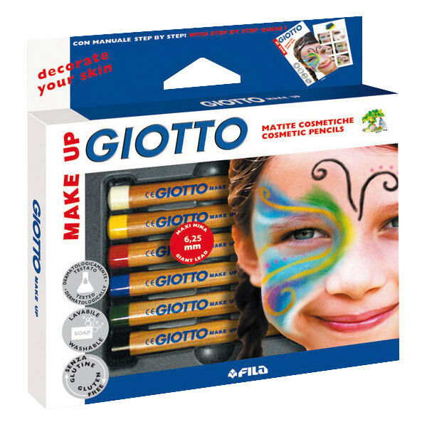 Face Painting Make-Up Cosmetic Pencils Face Painting Pencils by Giotto