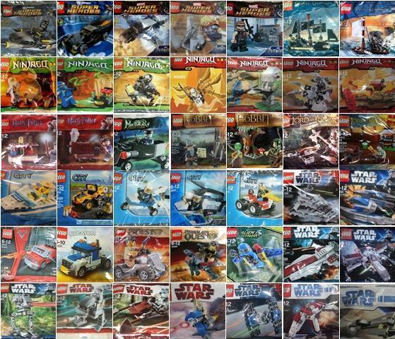 LEGO POLYBAGS Auswahl für ADVENTSKALENDER NIKOLAUS WEIHNACHTEN OSTERN Exklusiv