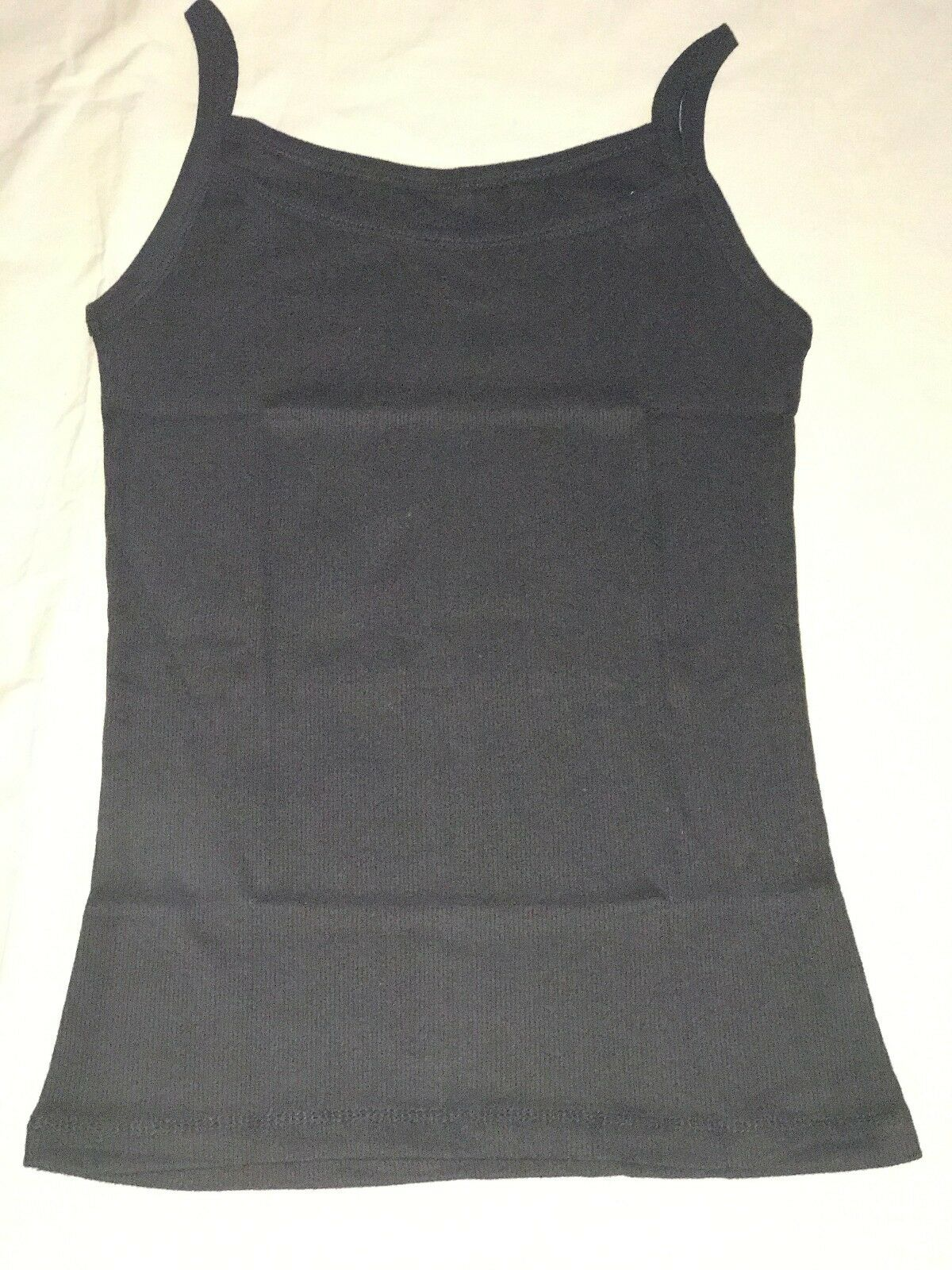T36 NEW WOMENS TURN UP SLEEVE T-SHIRT LADIES TANK TOP IN 8-14