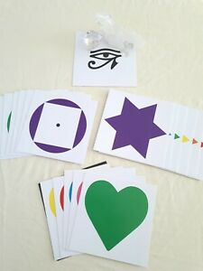 Details about HEALING I - CARDS - COLOUR HEALING sacred symbols,  Kinesiology, EFT tapping