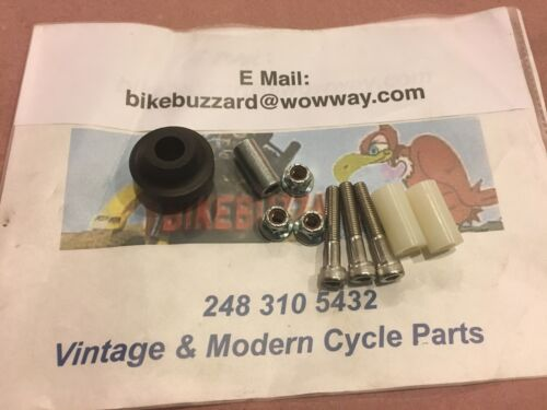 Maico 250 400 440 MC AW Square Barrel Chain Guide roller kit 1977 /& Earlier NEW!