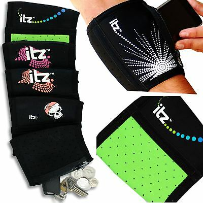 Wallet Arm Pocket Zip Cycling Running Expandable Wallet For Ipod Money Phone Eine GroßE Auswahl An Farben Und Designs