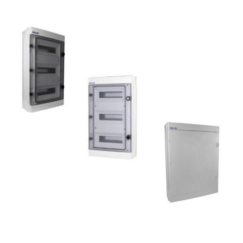 Verteilerkasten Feuchtraumverteiler Sicherungskasten IP65 VDE Aufputz//Unterputz