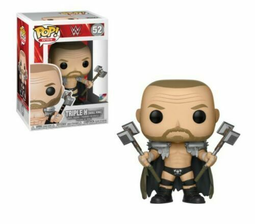 "WWE triple H Crâne King 3.75/"" POP Vinyl Figure FUNKO Brand New 52 UK Vendeur"