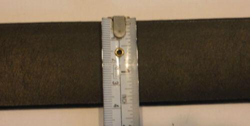 Silver Creek Classics New Black MECHANIC Leather Belt   Sizes 44 46  C70253