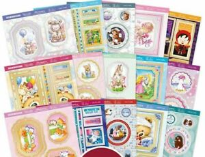 15 Hunkydory Pop a Topper Cute & Cuddly 160mm x 160mm Sheets NEW
