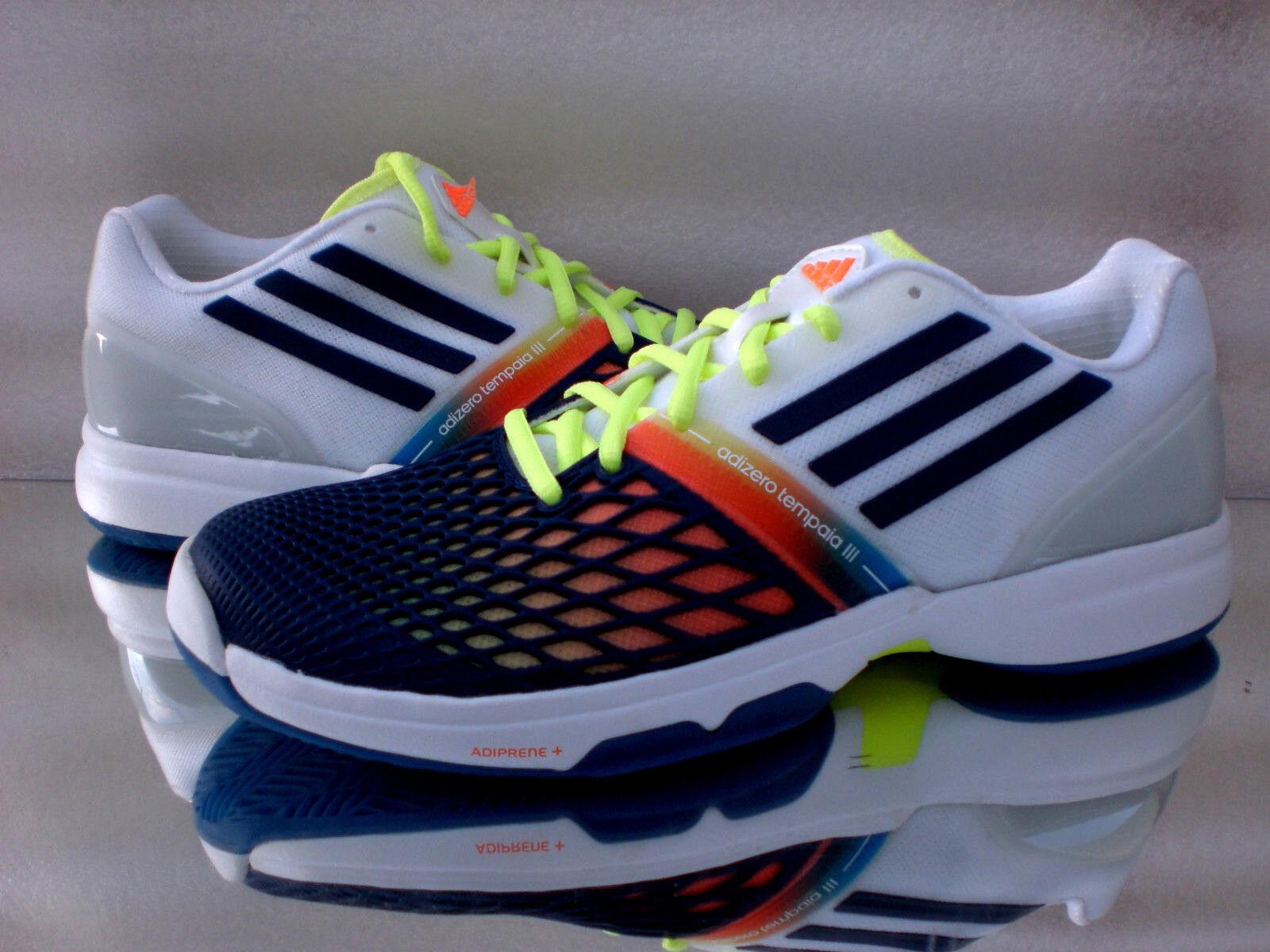Zapatos promocionales para hombres y mujeres Adidas CC Adizero Tempaia III Turn/Laufschuhe Sneaker Q22078 neu