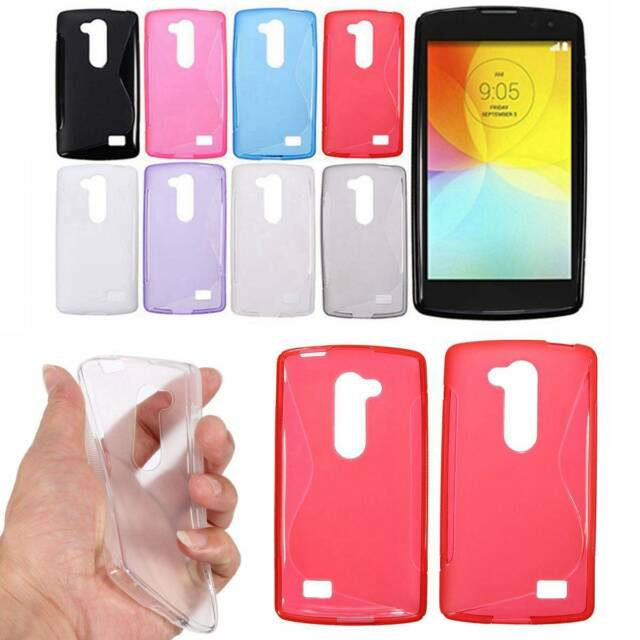 S Line Wave Ultra Slim Thin Soft TPU Gel Silicone Case Cover Skin For LG Phone