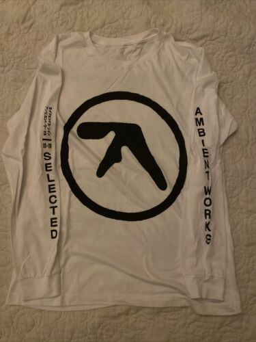 Aphex Twin Orange Long Sleeve Shirt Size Large