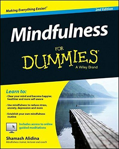 1 of 1 - Mindfulness For Dummies by Alidina, Shamash 1118868188 The Cheap Fast Free Post