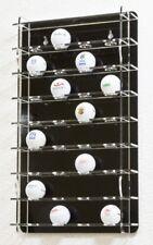 SORA Golfball Vitrine mit schwarzer Rückwand für 32 Golfbälle