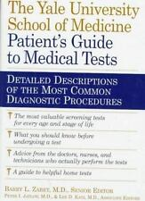 The Patient's Guide to Medical Tests-ExLibrary