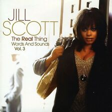 Jill Scott - Real Thing Words & Sounds 3 [New CD] UK - Import