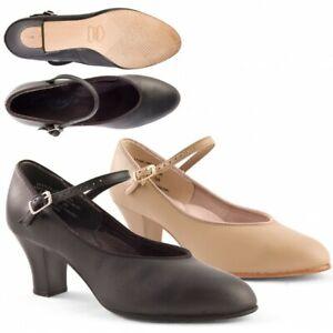 Capezio Womens Student Footlight Character Shoe