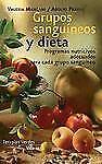 Grupos sanguÃneos y dieta (Vida sana) (Spanish Edition)-ExLibrary