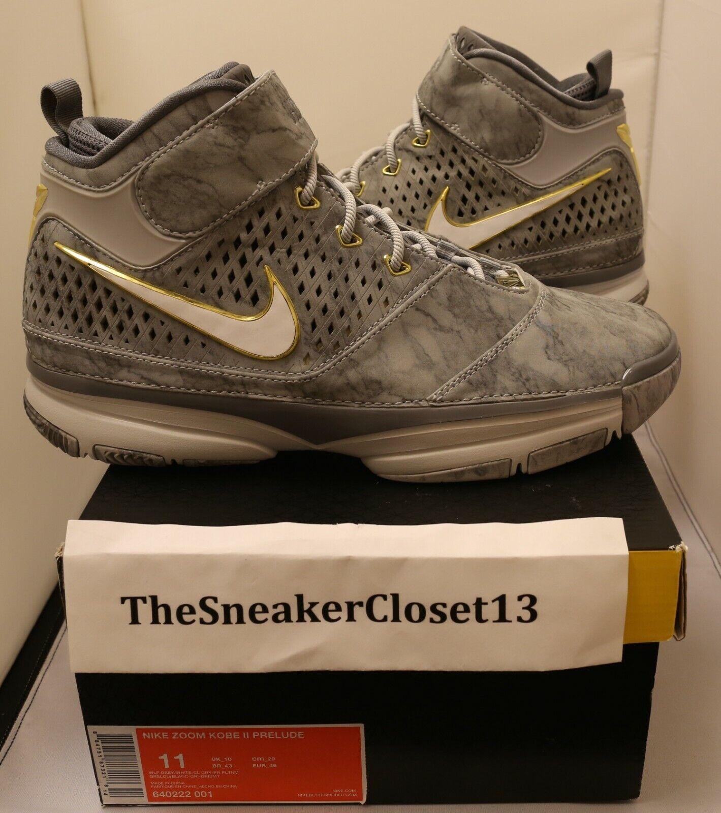 Nike Kobe II 2 Prelude SZ 11 fade to black 8 9 10