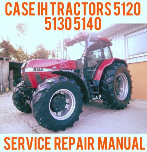 case ih tractors 5120 5130 5140 workshop shop service repair manual rh ebay com case ih manuals free case ih manuals online