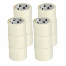 12 Rolls 3 X 110 Yards 330 Clear 16 Mil Carton Sealing Packing Tape