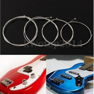 4pcs promotions 990l electric bass guitar string steel gauge strings 045 090 ebay. Black Bedroom Furniture Sets. Home Design Ideas