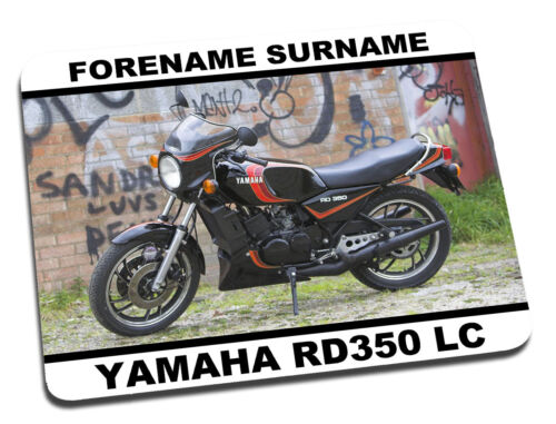 Personalised Yamaha RD350 LC Mouse Mat Desk Mat