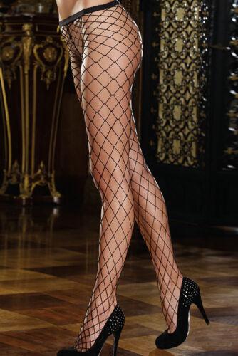 Black Whale Fence Net Pantyhose Tights Burlesque Lingerie Garter   Fishnet
