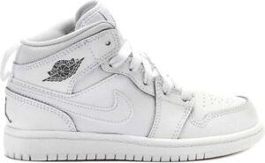 Nike Air Jordan 1 Mid Preschool White