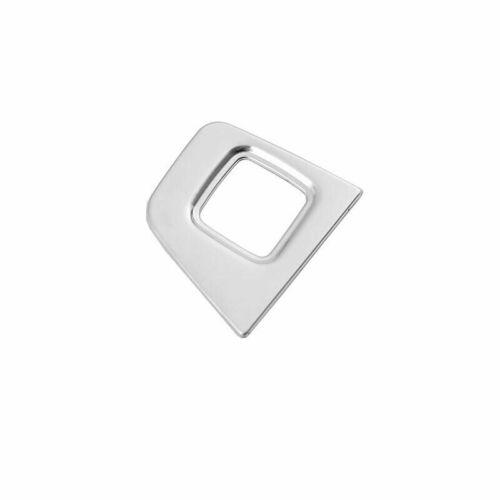Silver Titanium Back Door Tailgate Switch Frame Trim For Honda Accord 2018-2020