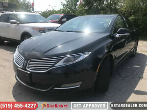 2015 Lincoln MKZ | AWD | NAV | LEATHER | ROOF | CAM |