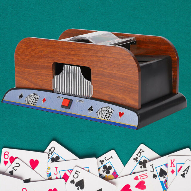 professional automatic card shuffler high speed shuffling