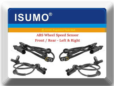 Rear Nissan Xterra 2005-2014 4 X ABS Speed Sensor  Front Left /& Right  Fits