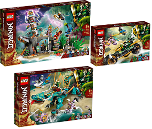 LEGO-Ninjago-71747-Das-Dorf-der-Waechter-71746-Dschungeldrache-71745-VORVERKAUF