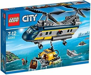 Lego 60093 City Explorers Deep Sea Helicopter Enfants Construction Amusant Idée Cadeau 4250350989463
