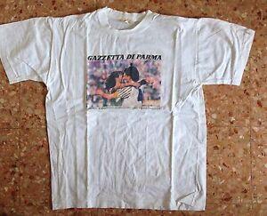 Maglietta Gazzetta di Parma Campionato Parma Calcio 1991-92 - Italia - Maglietta Gazzetta di Parma Campionato Parma Calcio 1991-92 - Italia